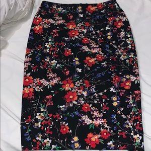 Flower Long skirt from EXPRESS